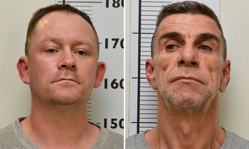 [Caption]Stephen Unwin (left) and William McFall met in prison while serving time for previous murders. Photograph: Northumbria Police/PA