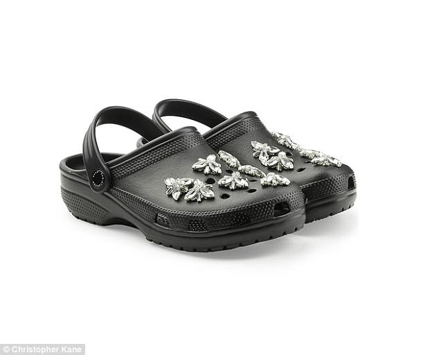 Kết quả hình ảnh cho Proof that Crocs are back for good? HUGE surge in online searches for the 'ugly' foam shoes as 20 pairs of are sold per hour (and it's all down to Christopher Kane)