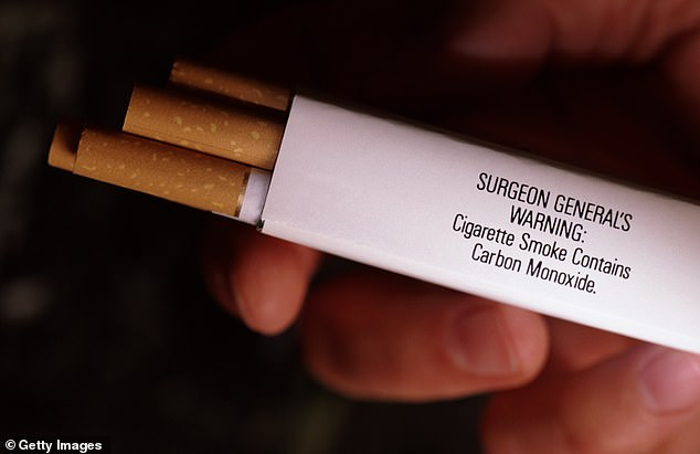 Cigarettes packs sold across the US will be featuring new 'corrective statements' on packaging beginning on Wednesday, in the latest installment of measures required stemming from the 1999 federal lawsuit against Big Tobacco. An image of a previous, inadequate warning that simply stated, 'Cigarette smoke contains carbon monoxide' is shown