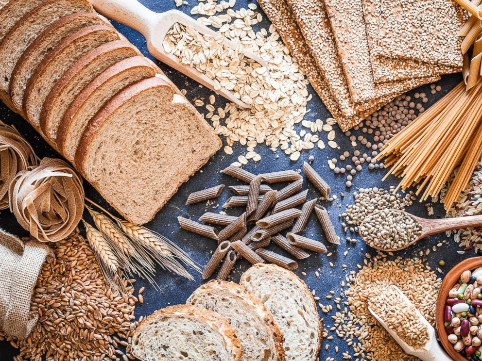 PHOTO: An undated stock photo of food carbs.